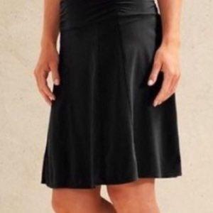 Athleta Nusa rollover black skirt in guc. Small